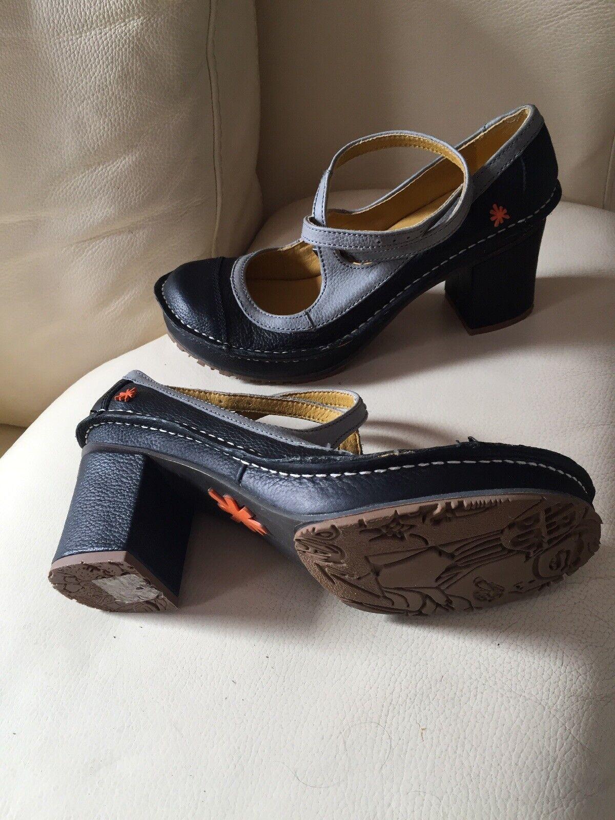 risparmia fino al 70% Tipo di pelle Scarpe da Donna Pumps Mary Janes scarpe scarpe scarpe Lagenlook  Natura  gr.40 NUOVO  negozio online