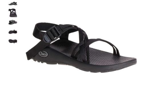 Chaco Zx   1 Classico Nero Comfort Sandali Misure da Donna 5-11   Nib
