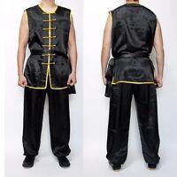 Wushu Nanquan Basic Kungfu Uniform Suit Uniforms Kung Fu Martial Arts Black