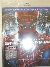 THE AMAZING SPIDER-MAN 3D+2D FILM IN BLU-RAY NUOVO-SPEDIZIONE €4,90 FINO 20 FILM