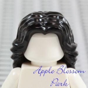 NEW Lego Girl Minifig Long Curly BROWN HAIR Friends Short Curls Head Gear