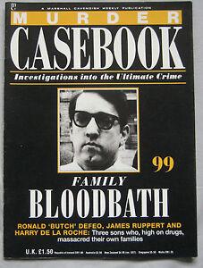 Murder-Casebook-Issue-99-Ronald-039-Butch-039-Defeo-James-Ruppert-Harry-De-La-Roche