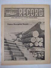 vtg 1951 Defense Record Korea Radar Beacon Rockets Atomic Patents Castor Bean