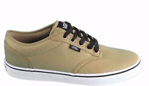 396700fd07e3 Vans Atwood (Textile) Khaki Black Women s Casual Classic Shoes