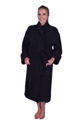 Puffy Cotton Heavy Adult Unisex Shawl Collar Bathrobe 100/% Natural Soft Cotton