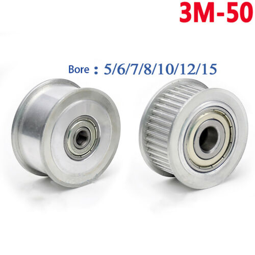 3 M GALET Timing Poulie Roulement 15T-60T pour 11//16mm largeur Courroie imprimante 3D