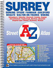 Surrey Street Atlas by Geographers' A-Z Map Company (Spiral bound, 2013)