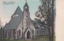 Antique POSTCARD c1907-20 Church of Nativity BRIDGEPORT, CT CONN. 14107
