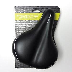 Image Is Loading Forte Easy Rider Saddle Comfort Bike Seat Black