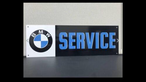 BMW Service Retro Reproduction Garage Sign