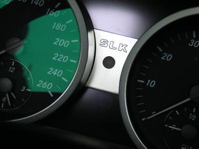 Mercedes Benz SLK R171 280 200 350 AMG Brabus Tacho Verstellung Aluminiumblende