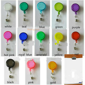 3x Badge Reel Retractable Recoil YOYO SKI PASS ID Card Holder Key Chain 13 color - <span itemprop=availableAtOrFrom>Abergele, Conwy, United Kingdom</span> - All items can be returned within 30 days of receiving. Items must be unused and in their original packaging in unspoit condition. Items can be returned for replacement, refund or  - Abergele, Conwy, United Kingdom