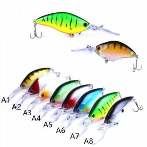 ganchos-Crankbait-buceo-profundo-De-plastico-duro-cebo-Senuelos-de-pesca