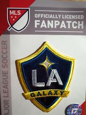 LA GALAXY MLS SOCCER EMBROIRERED IRON-ON PATCH CREST BADGE 2 3//4 X 3 1//4 INCHES