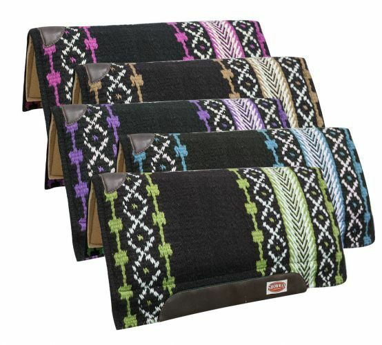 Showman CUTTER 36  x 34  SADDLE PAD Shock Absorbent Breathable Memory Foam