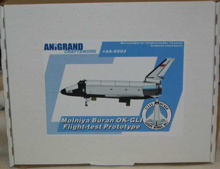 Anigrand Models 1 144 MOLNIYA BURAN OK-GLI Russian Space Shuttle