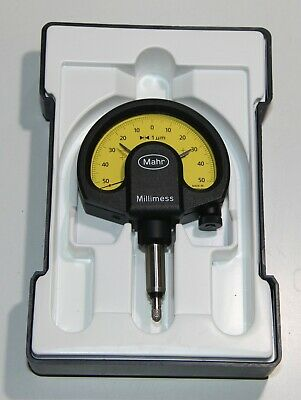 1μm Mahr 4334000 1003 Millimess Mechanical Dial Comparator ±50 μm Range