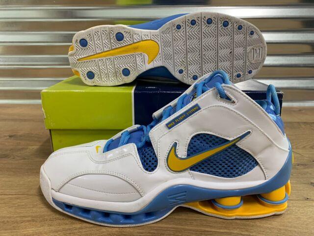 Men's 15 Nike Shox Elite Flight 2004 Basketball Shoe. Denver Nuggets 309267  171