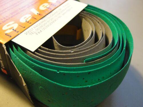 Selev Grey green bi-color Italy Handlebar Tape BAR TAPE Cork Ribbon NEW