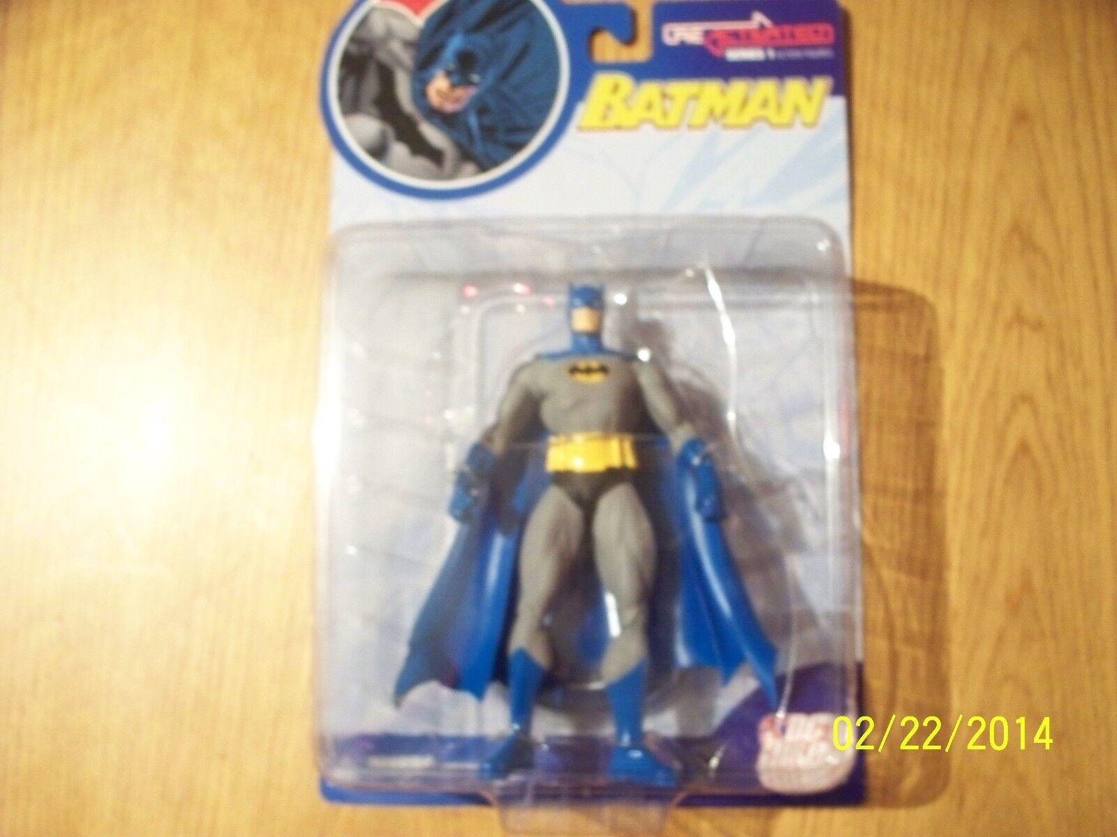 DC DIRECT BATMAN REACTIVATED ACTION FIGURE   UNOPENED   DC COMICS