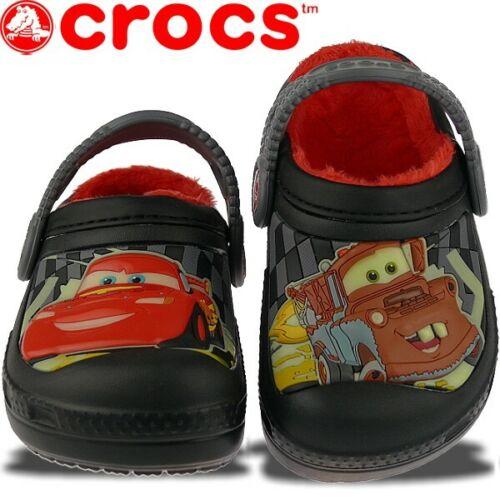 der Schuh leuchtet im Dunkeln kuschelig Gr.23-35 CROCS Disneys Cars
