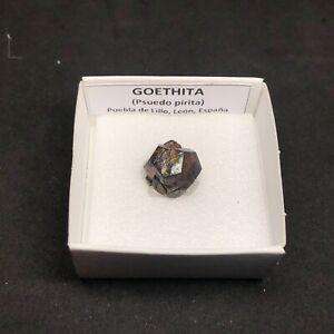 GOETHITA-Goethite-La-Respina-Puebla-de-Lillo-CAJITA-4x4-SPAIN-MINERAL-J321