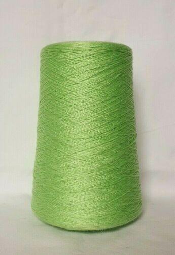 Lind Verde a Maglia Macchina mettili filati Kone 2198 SG Viscosa poliacrilico NM 30//2
