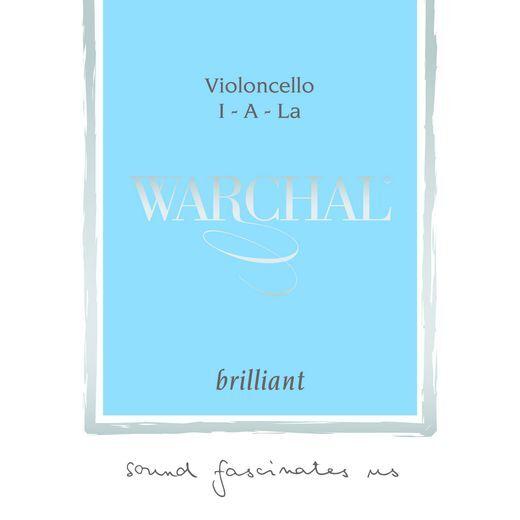 Neuf Warchal Brillant Violoncelle Corde Ensemble 4 4