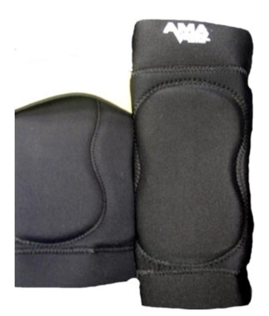 AMA Pro Rodilleras medio Wrestling negro fútbol Mma Judo Deportes jui Jitsu M