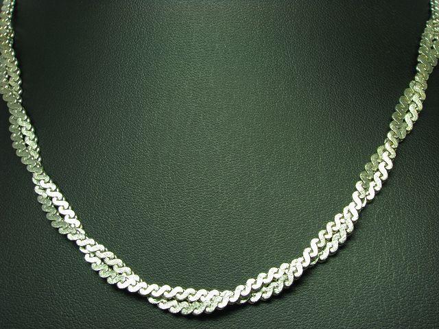 835 silver Collier   silvercollier   Echtsilver   44,3cm   22,3g
