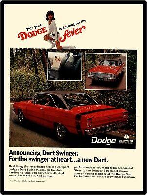 1974 Dodge Dart Dozen Swinger Sport Sport Rallye Special Edition Sales Brochure
