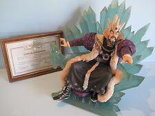 ENCHANTICA Fantasy Figures & Dragons EN2040 VRORST ON THRONE WINTER WIZARD