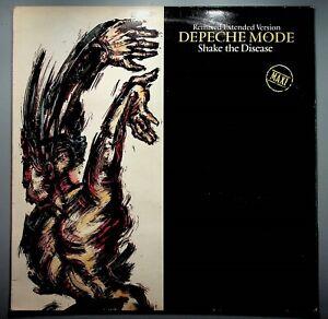"MX / 12 "" - DEPECHE MODE - SHAKE THE DISEASE - FRANCE"