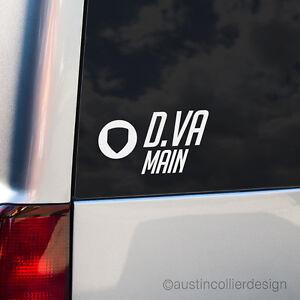 D-VA-MAIN-Vinyl-Decal-Car-Truck-Window-Laptop-Sticker-Overwatch-eSports-Meme