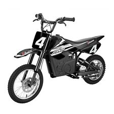 Razor MX650 17 MPH Steel Electric Dirt Rocket Motor Bike for Teens 16+, Black
