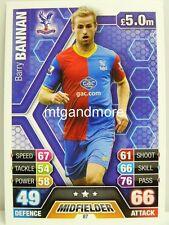 Match Attax 2013/14 Premier League - #087 Barry Bannan - Crystal Palace