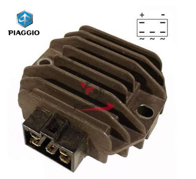 58090R SPANNUNGSREGLER ORIGINAL PIAGGIO BEVERLY RST 125 2005-2007 M28400