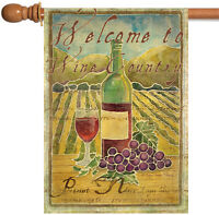 Toland - Pinot Noir Welcome To Wine Country - Regional Wine House Flag