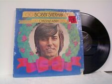 "BOBBY SHERMAN ""CHRISTMAS ALBUM"" LP IN SHRINK"