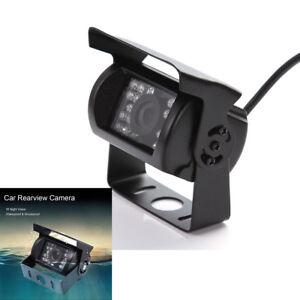 Car RV Rear View Reverse Backup CCTV HD Camera 18 IR LED Night  Waterproof