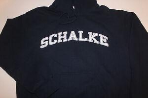 Schalke-Hoodie-Gelsenkirchen-Schalke-Hoody-Groesse-Large-TOP-Angebot-Dunkelblau