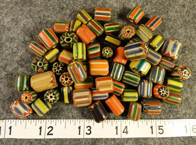 Original Hudson/'s Bay Company Chevron Trade Beads Huron Indian Fur Trade 10