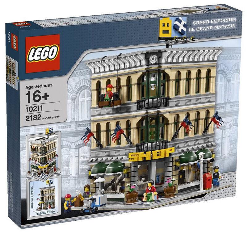 LEGO  edifici modulari 10211 GRe EMPORIUM-Nuovo, sigillato  molte concessioni