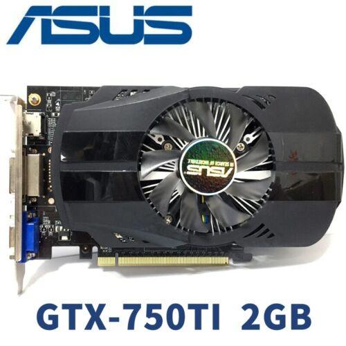 ASUS Video Card Original GTX750Ti 2GB 128Bit GDDR5 Graphics Cards for nVIDIA VGA