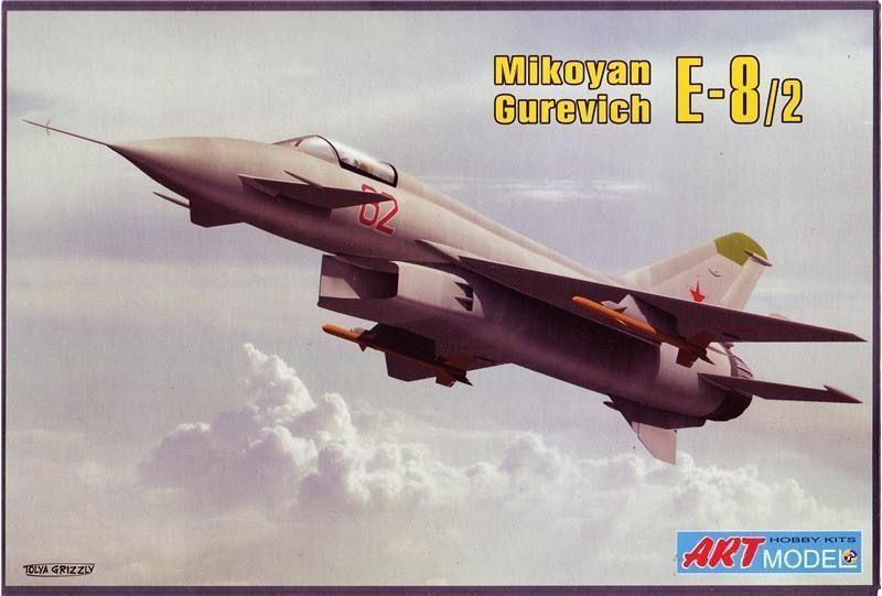 MIKOYAN YE-8 EXPERIMENTAL FIGHTER 1 72 ART MODELS 7209