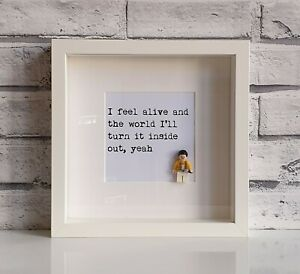 Queen Fat Bottomed Girls Freddie Mercury Silhouette Song Lyric Quote Print