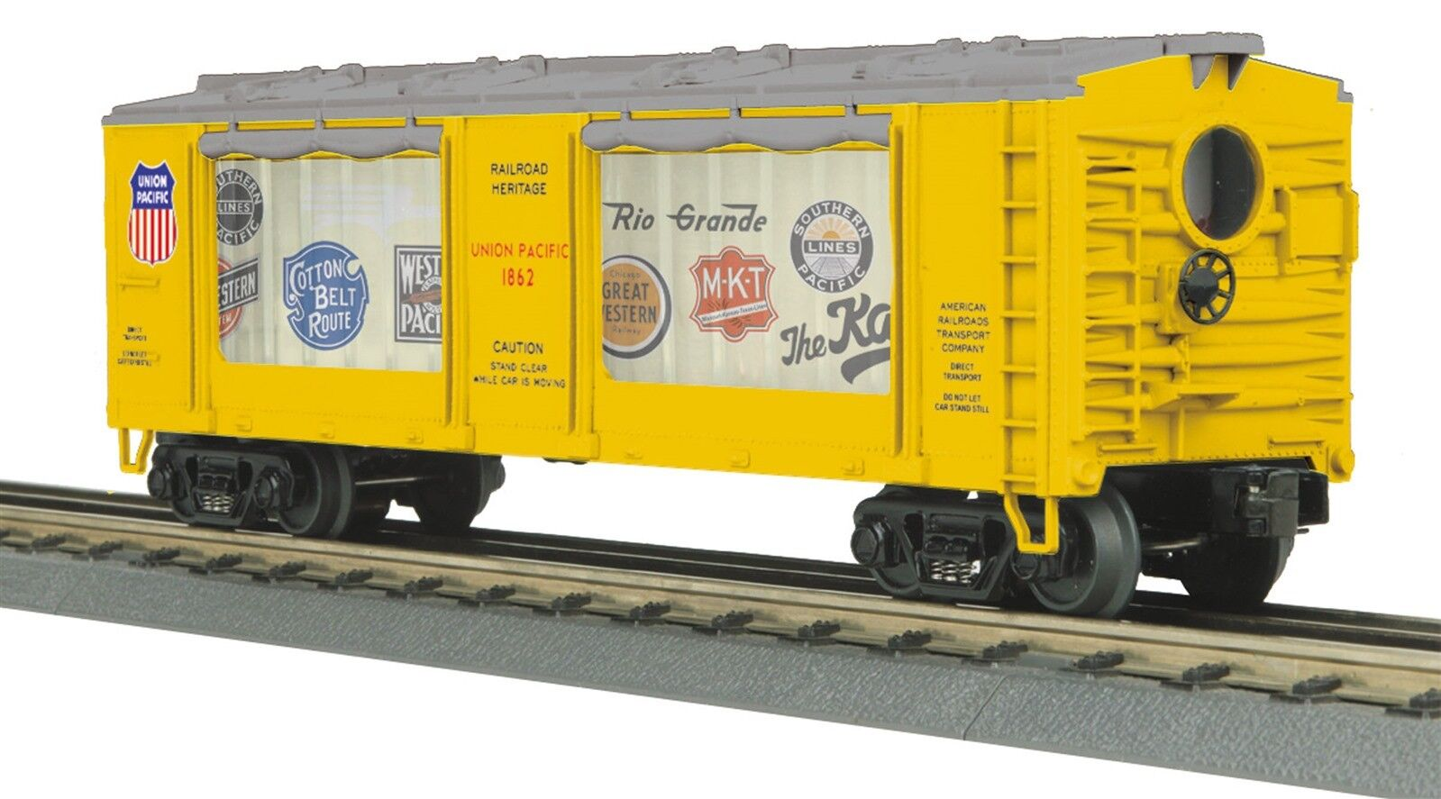 MTH RailKing 30-79471 Union Pacific Operating Action Car O Gauge Model Trains