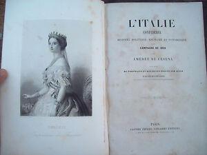 1860-RISORGIMENTO-AMEDEE-DE-CESENA-STORIA-DELLA-CAMPAGNA-DEL-1859-CON-UNIFORMI