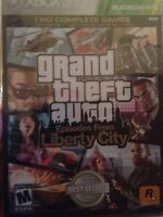 Sealed Xbox 360 Game - Grand Theft Auto Liberty City - Gta - Free Shipping