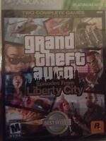 Sealed Xbox 360 Game - Grand Theft Auto Liberty City - Gta - Free Shipping